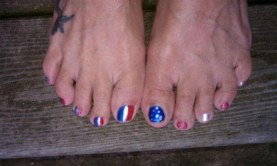 Memorial Day and Toes
