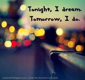 Tonight, I Dream