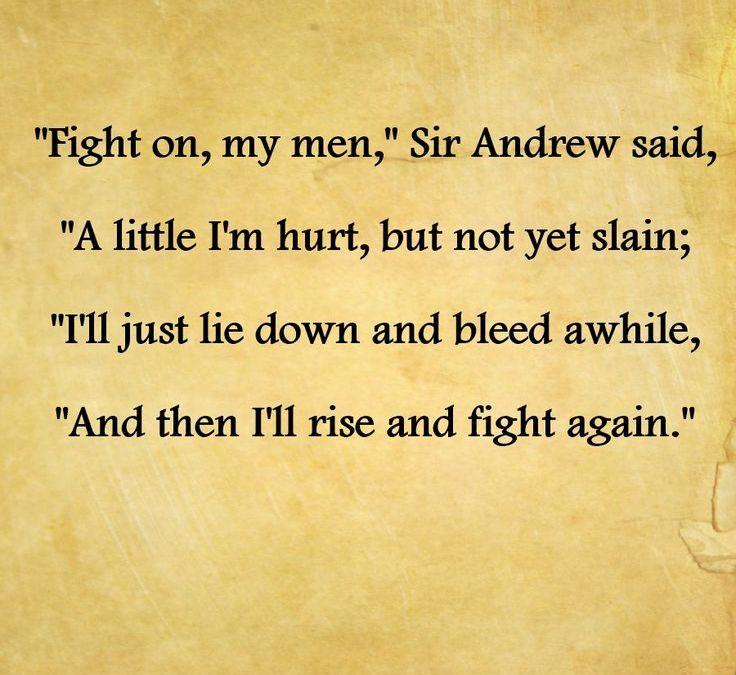 Fight On My Men